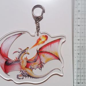 ドラゴン アクリルキーホルダー