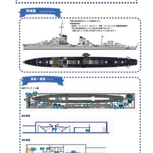 【組立説明書】1/700 ドイツ国防海軍 1934年型駆逐艦