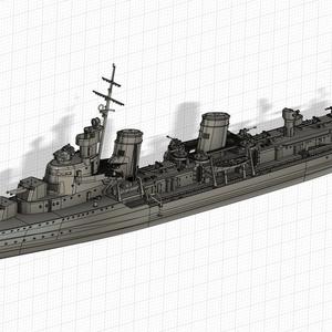 1/700 ソ連海軍 嚮導駆逐艦 タシュケント