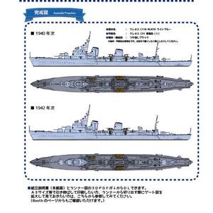 【組立説明書】1/700 ソ連海軍 タシュケント