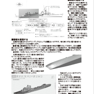 【冊子】イタリア艦船に恋して vol.0 ~1/700 Water Line Model Digital Modeling Introduction
