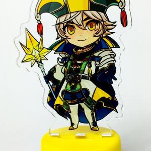 ボトルキャップアクリルスタンド/ ウォル・賢者