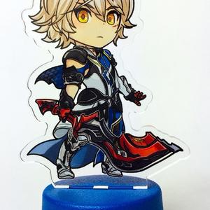 ボトルキャップアクリルスタンド/ ウォル・暁の戦士