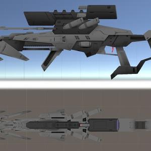 プロトンライフルPR-2[VRChat向け3Dモデル]