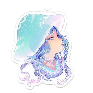 アクリルキーホルダー*[ Kurage head girl ]