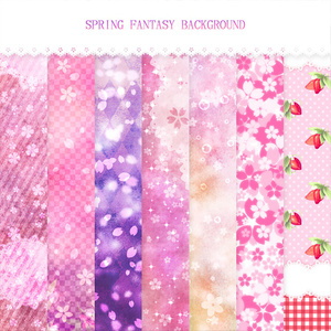 SPRING FANTASY BACKGROUND