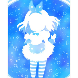 Alice in under water(iphoneケース)