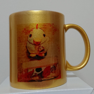 黄金のチビマグカップ