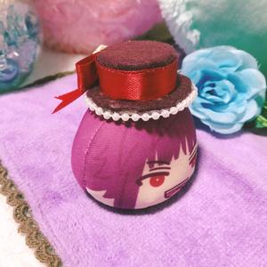 ワインレッド/帽子