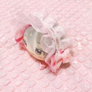 ピンク/ヘッドドレス