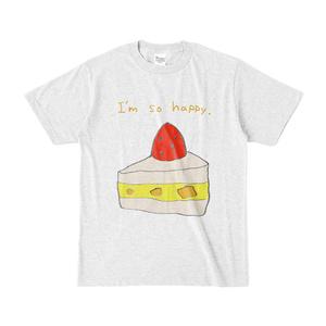 ショートケーキTシャツ