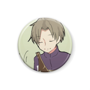 【刀剣乱舞】へし切長谷部 缶バッジ