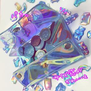 けもみみ🐶🐰4次狂ちゃんのオーロラボックスコインケース