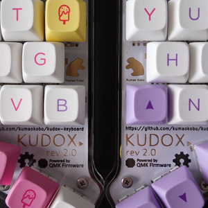 【基板色: 白】Kudox ホットスワップver 基本セット