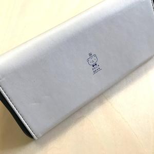 折りたたみメガネケース(紫陽花)