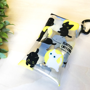 子猫のロッタのミニクリアポーチ