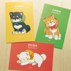 柴犬ポストカード