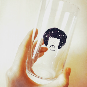 グラス(星を見る)