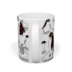 南極のペンギン達のマグカップ
