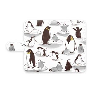 南極のペンギン達のAndroidケース