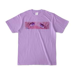 おめめぱちぱちTシャツ パープル