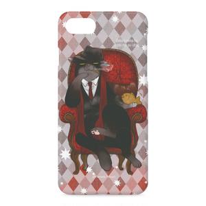 ドン・諭吉のiPhoneケース(赤)
