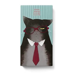 メガネ猫のモバイルバッテリー