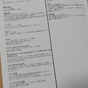 NOeSIS用語集