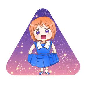 三角缶バッチ【エルピー・プル】