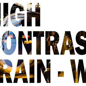 HIGH CONTRAST TRAIN-W