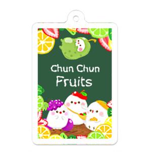 白文鳥ちゅんすけのフルーchun