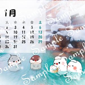 2018年 ちゅんすけカレンダー1月(*•ө•*)
