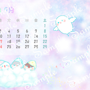 2018年 ちゅんすけカレンダー9月(*•ө•*)