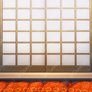 「昭和の居間」背景セット