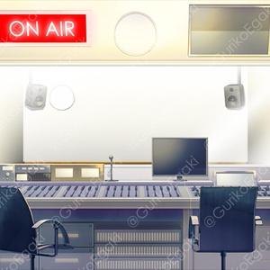 「レコーディング・スタジオ」背景セット