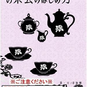 【通販限定・エラー版】ゴシック&ロリィタのためのハウツー本 お茶会のはじめ方