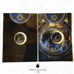魔法ノート24p【夢の光A5サイズ】+ポストカード付き