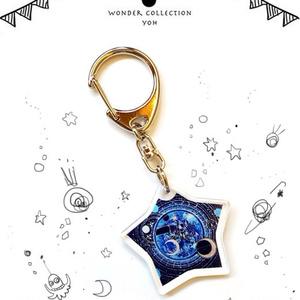 アクリルキーホルダー【星の魔法】