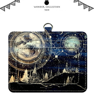 夜空の魔法 パスケース