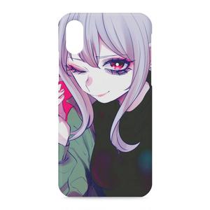ゲーマー少女iPhoneケースXS/X(側面員印刷アリ)