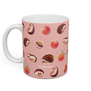 ハリネズミのすももちゃんがいっぱい!♡マグカップ