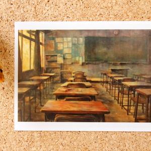 日本画作品ポストカード『帰ろう。』