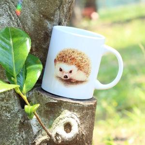 ハリネズミのすももちゃん♡マグカップ