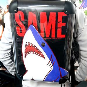 「サメ」アートリュックサック
