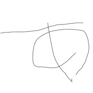 次世代ピカソの手描き文字サンプル