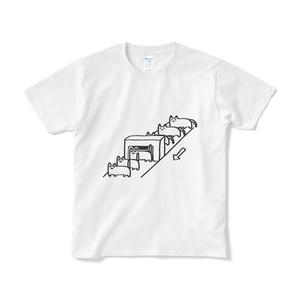 ねこちゃんファクトリーTシャツ