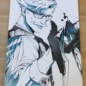 新宿のアーチャー ポスカセット A -ナイフ・蝶-