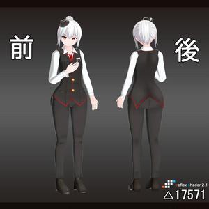 オリジナル3Dモデル 「ラナ - Suit -」