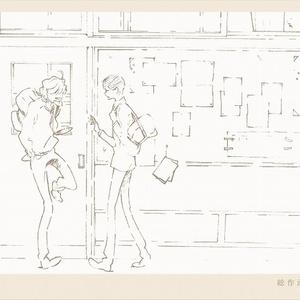 【数量限定三方背BOX付】同級生「原画集」「総作画監督修正集」「美術集」三冊セット