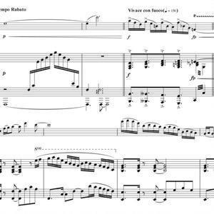 ピアノとヴァイオリンのための~Sanctuary World~
